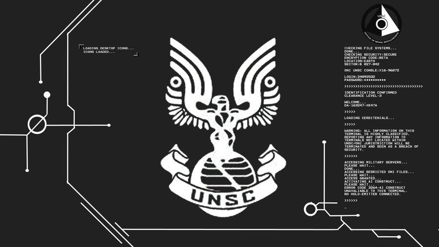 halo PROPERTY OF UNSC wallpaper by Xlar Kenziv 900x506