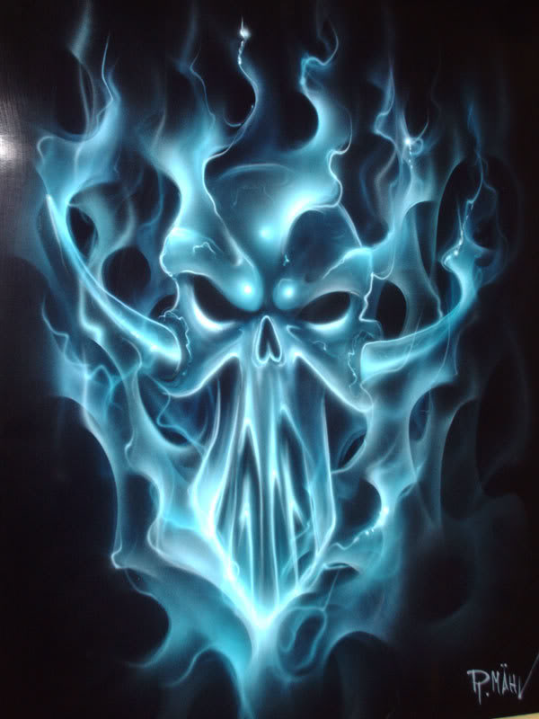 Blue skull Photos HD Wallpapers Pics 600x800