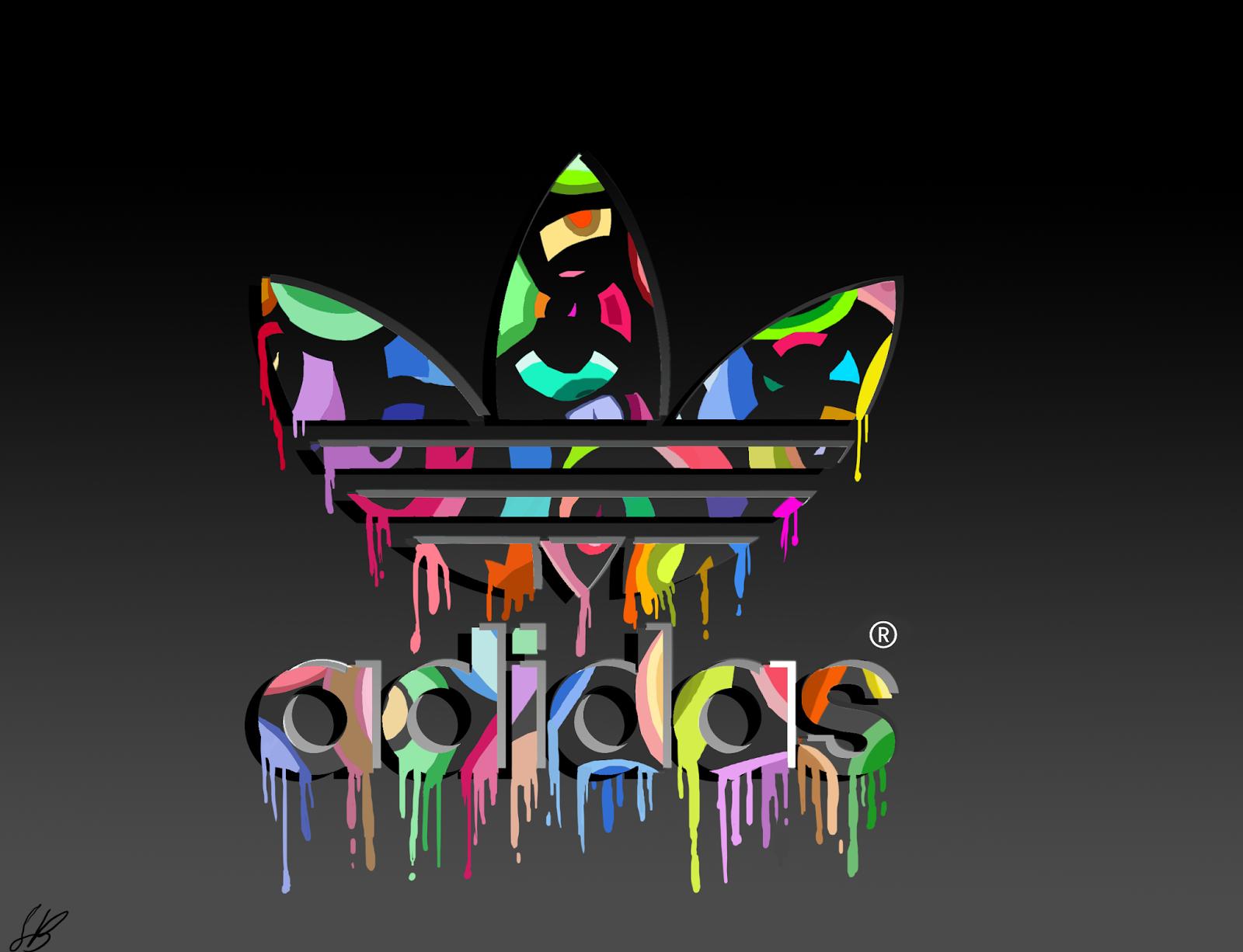 Adidas Logo Abstract Coloring Logo Designs Wallpaper Hd Phone RiQDtmaG 1600x1226