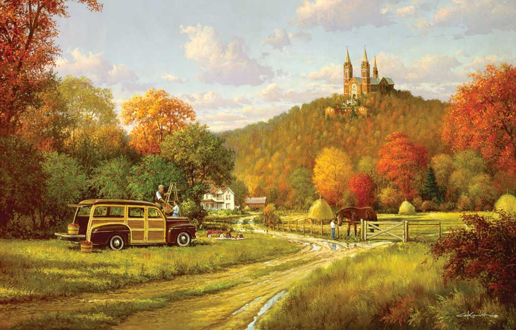 Jigsaw Puzzles   Autumn at Holy Hill 1024x655