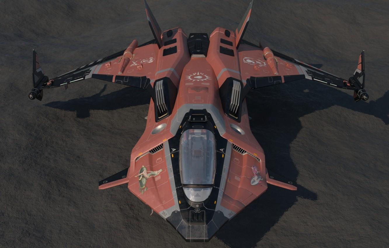 Wallpaper starship Star Citizen Gladius images for desktop 1332x850