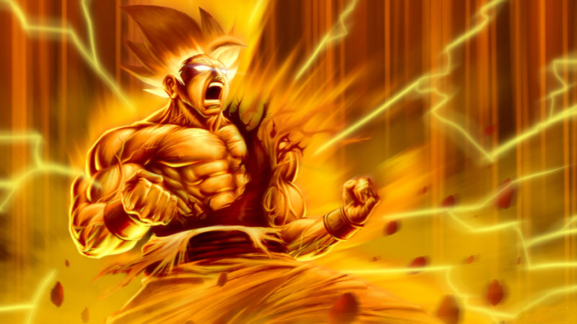Dragon Ball Z Super Saiyan Wallpaper 6079 Wallpaper Cool 1920x1080