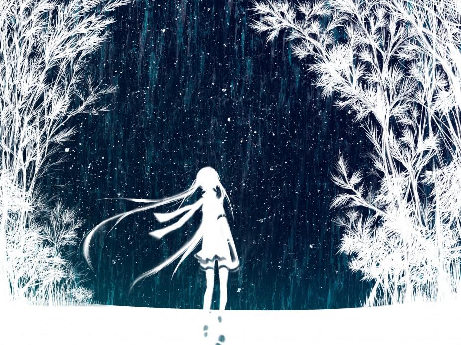 anime winter wallpaper 928x696