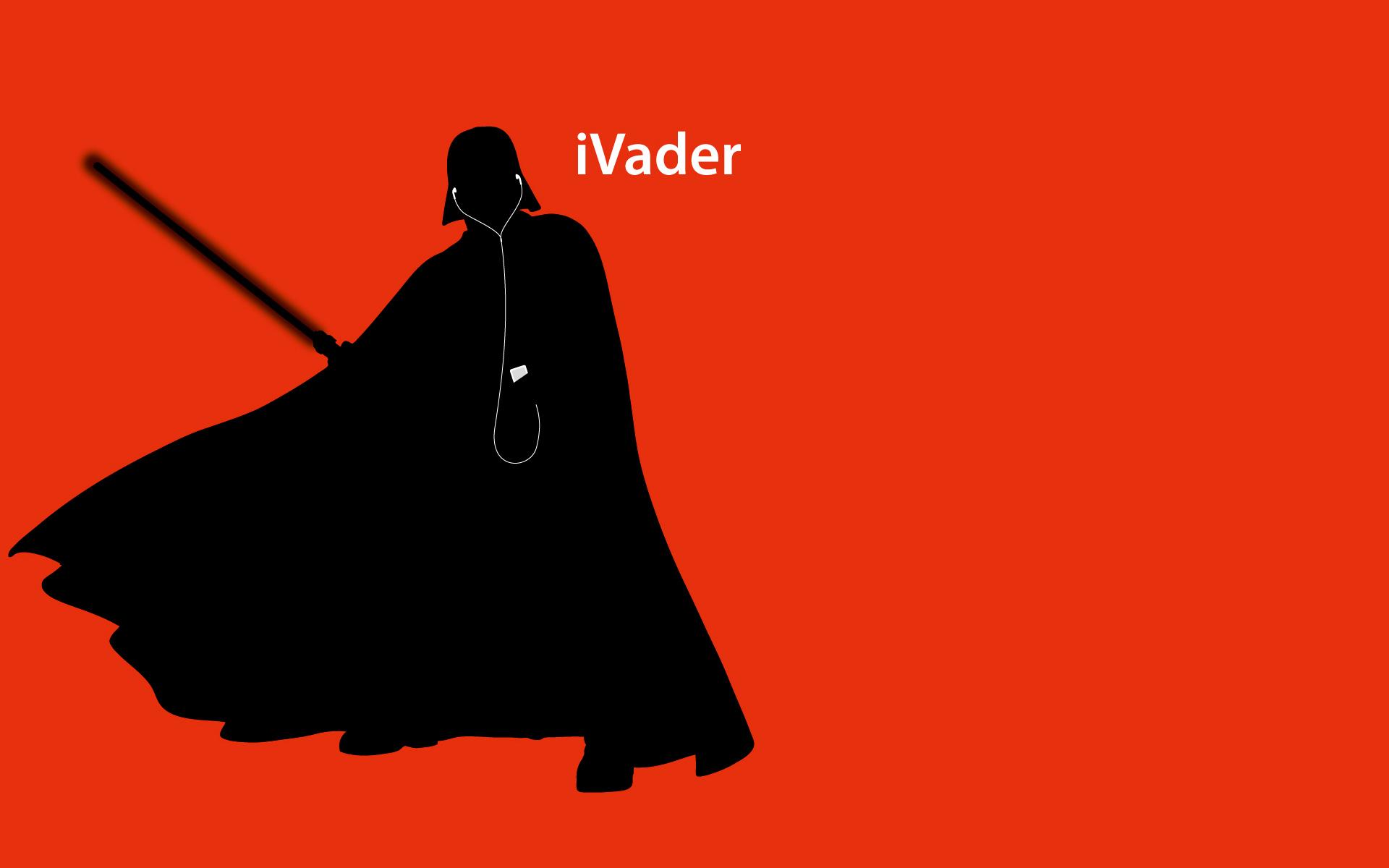 Star Wars iPod Ad Wallpaper 5 by jamesrudge 1920x1200