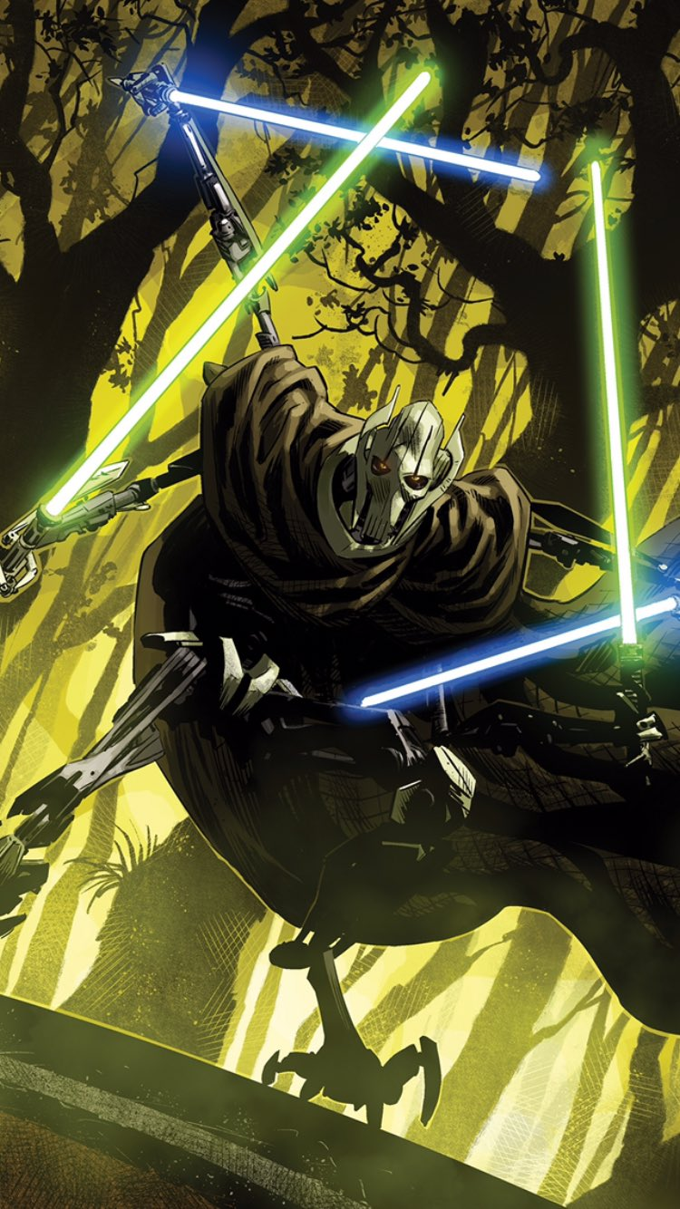 Panel from Age of Republic General Grievous 1 posted by artist 750x1334
