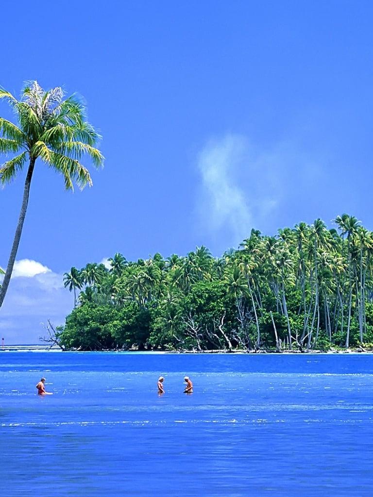 Beautiful Tropical Islands Desktop Wallpaper 768x1024
