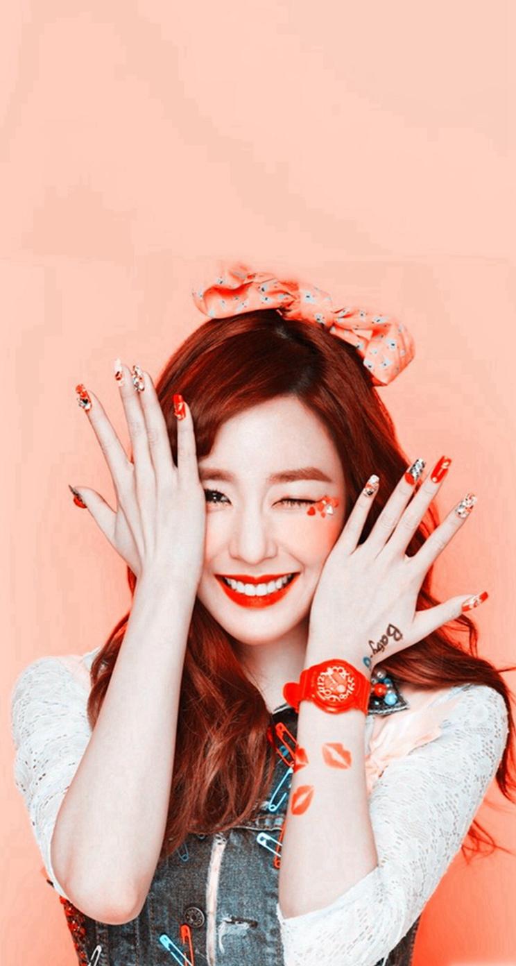 Pin Wallpaper   Girl Kpop Idols Nails 711989   HD Wallpaper 744x1392