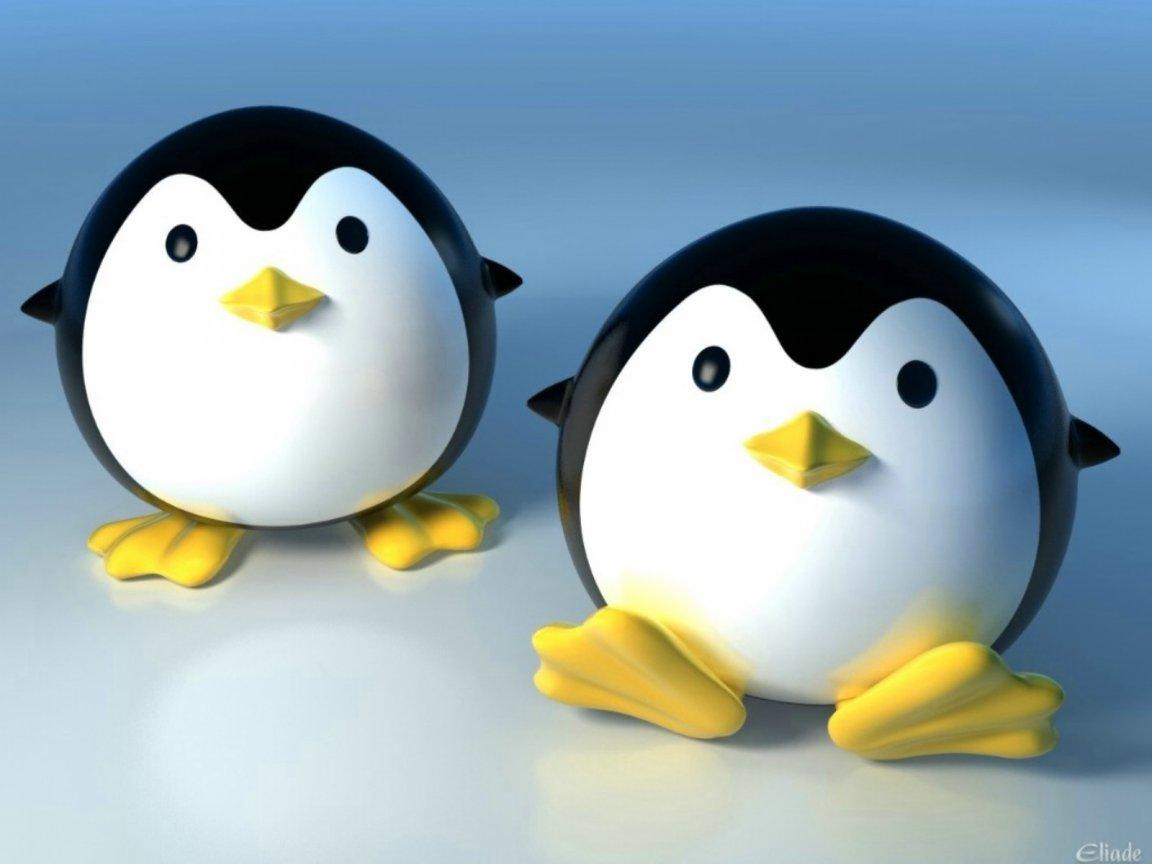 3D Cute Penguin 1152x864 Wallpapers 1152x864 Wallpapers 1152x864