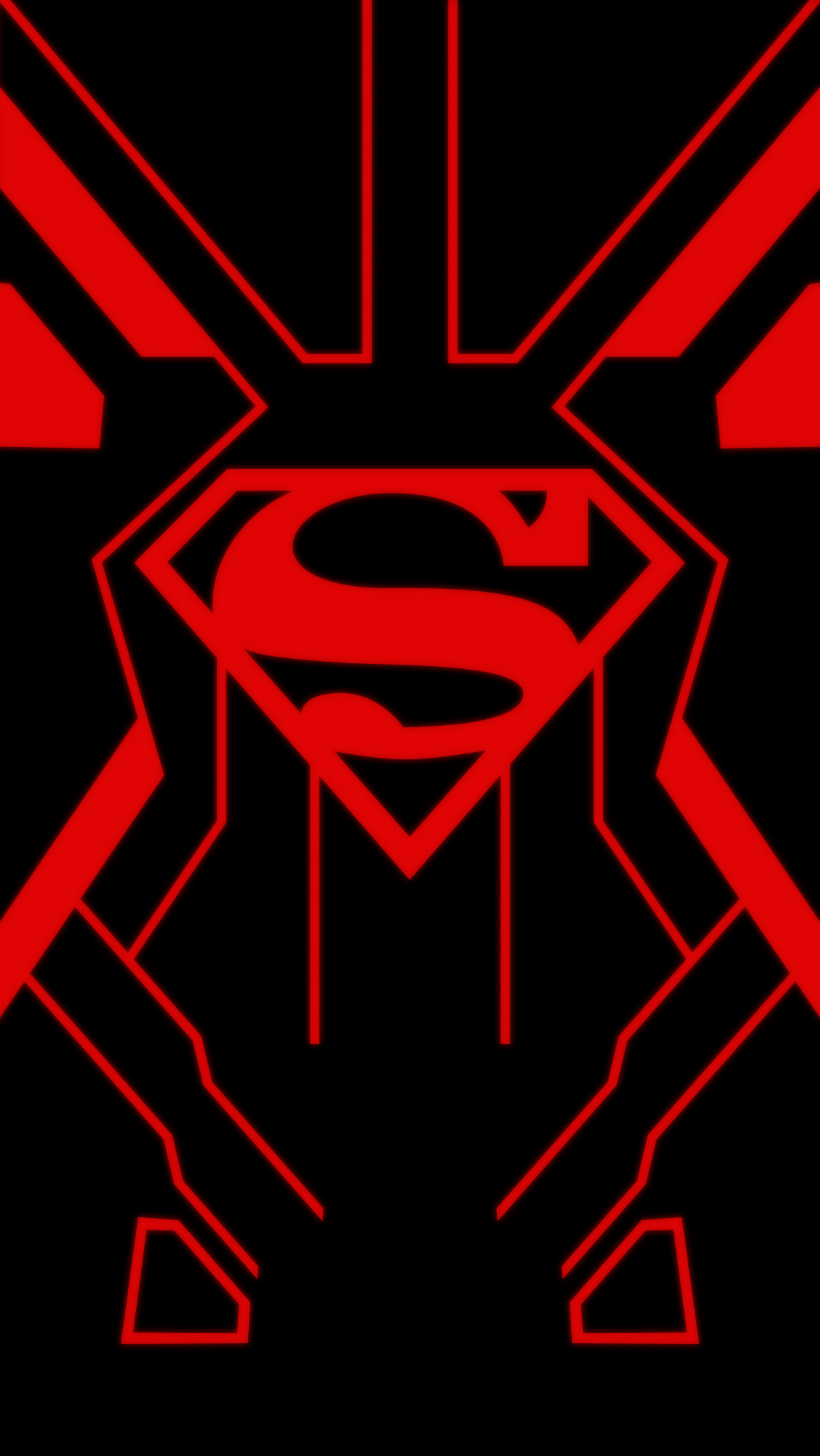 superboy iphone 5 wallpaper by izlacson customization wallpaper iphone 1127x2000