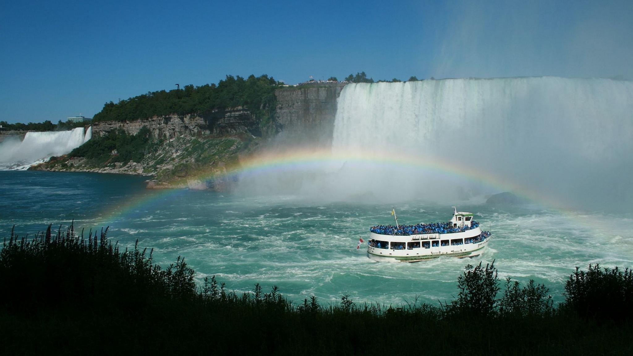 Niagara Falls HD desktop wallpaper Landscapes wallpapers 2048x1152