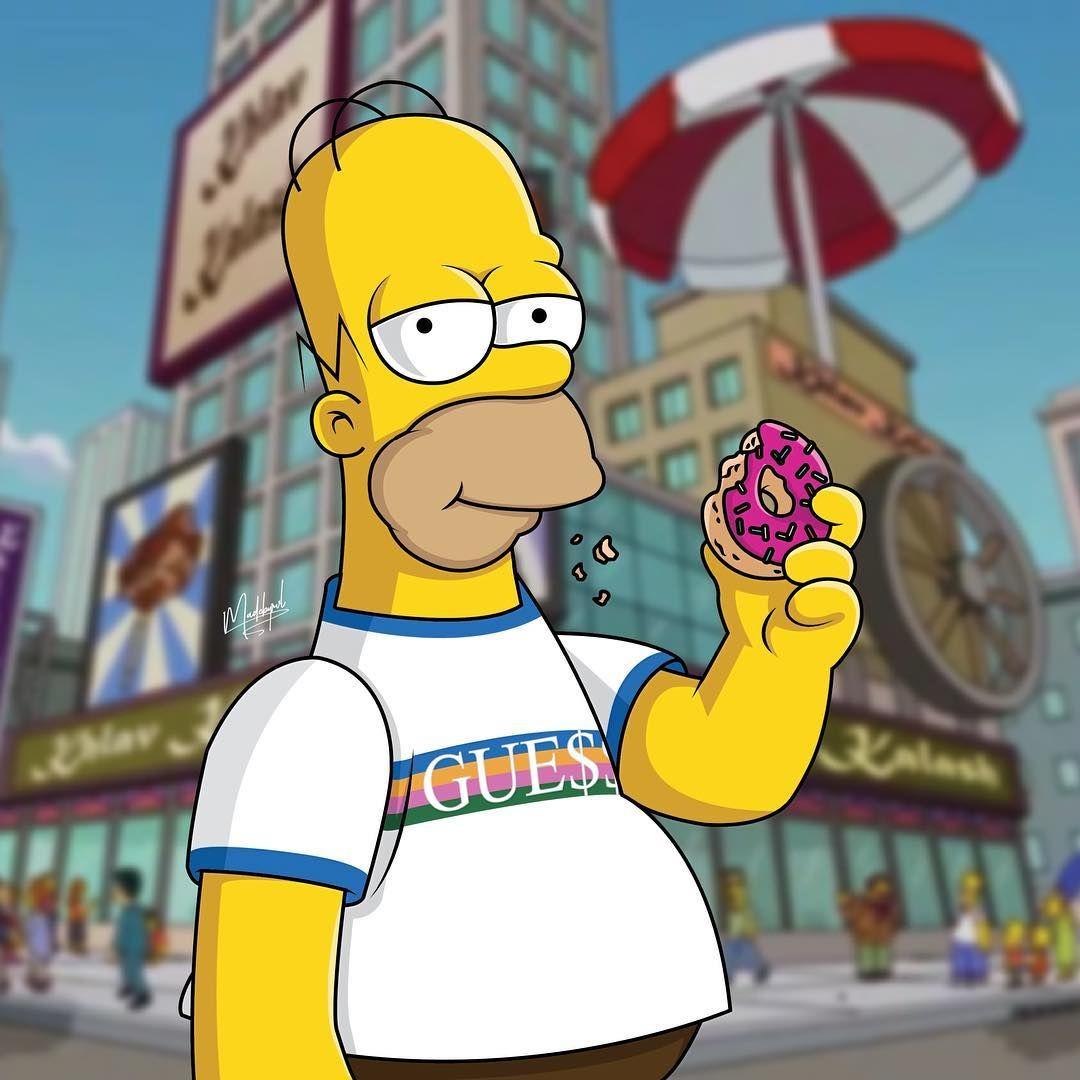 pinterest ADC Simpsons The simpsons Dope cartoon art 1080x1080