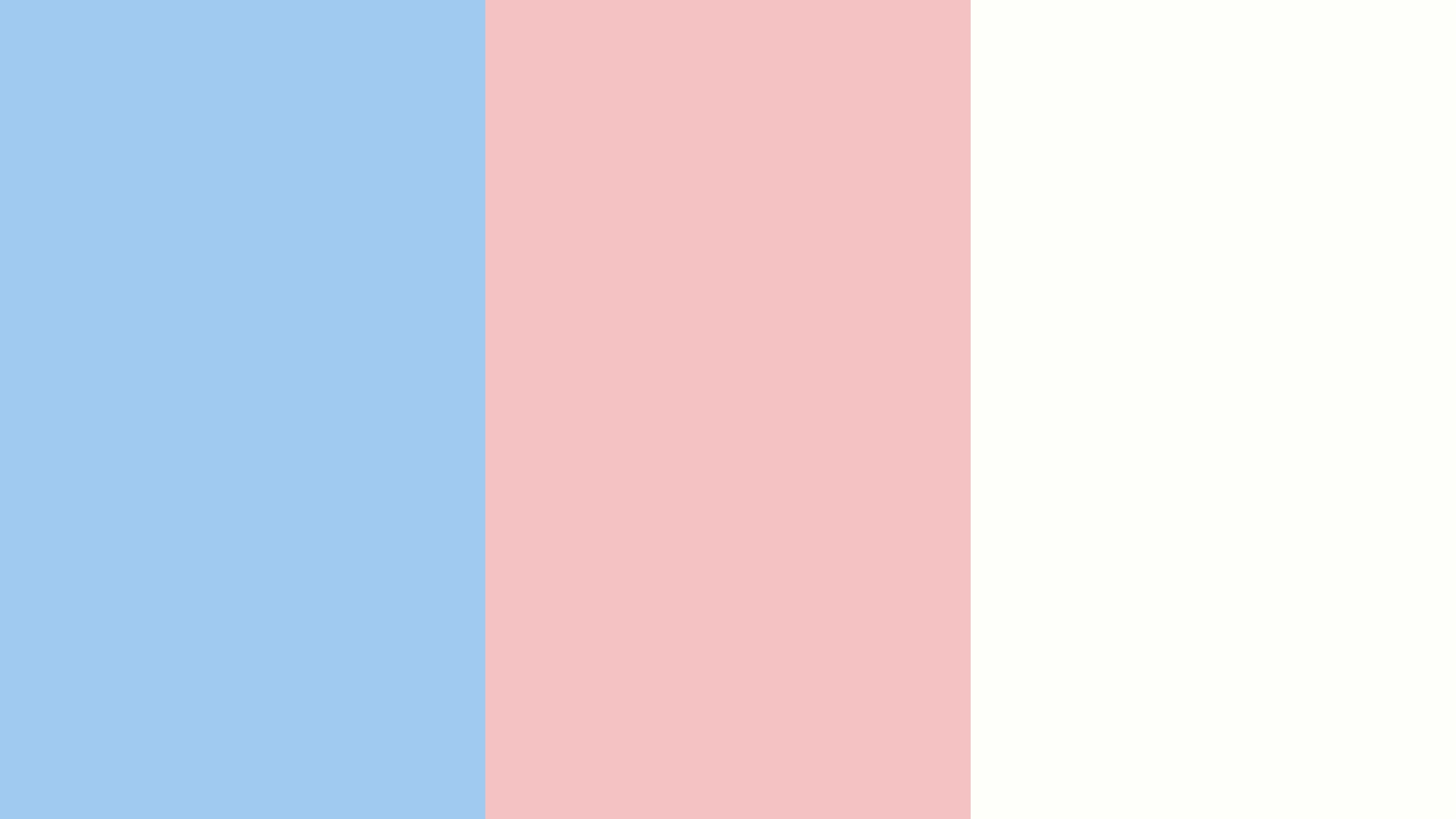 Baby Blue Eyes Baby Pink and Baby Powder Three Color Background 1920x1080