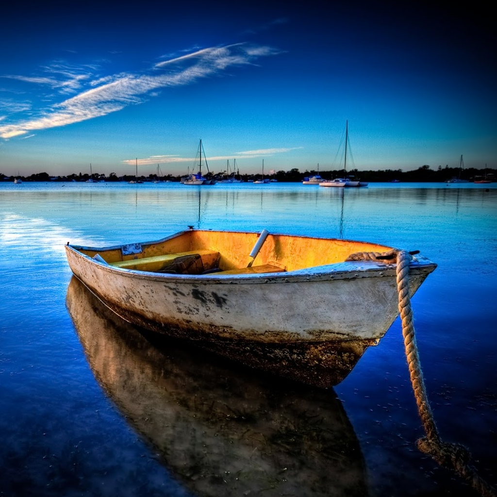Boat iPad Wallpaper   Download iPad wallpapers 1024x1024