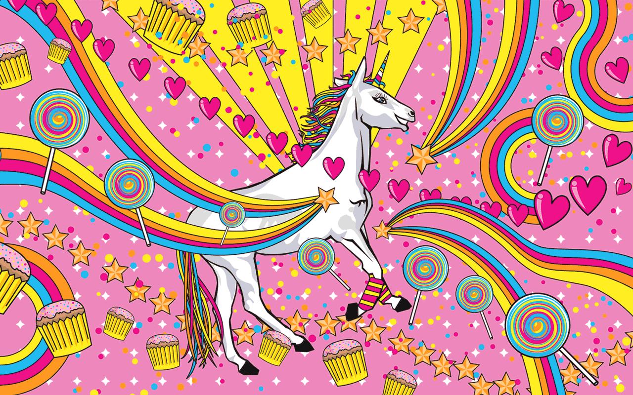 Free Download Rainbow Unicorn Wallpaper Unicorns Wallpaper