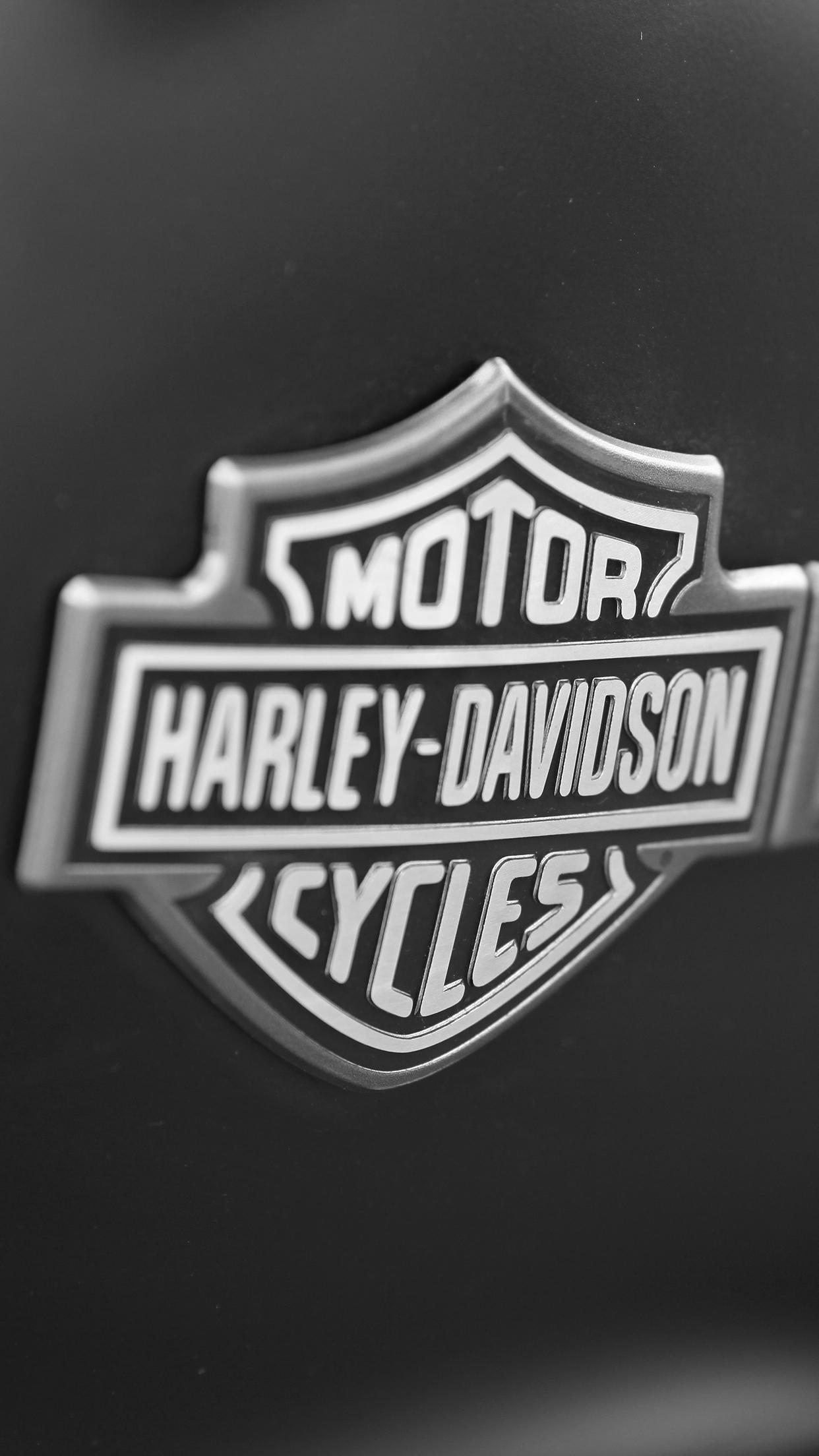 Free Download Harley Davidson Logo 1242x2208 For Your Desktop