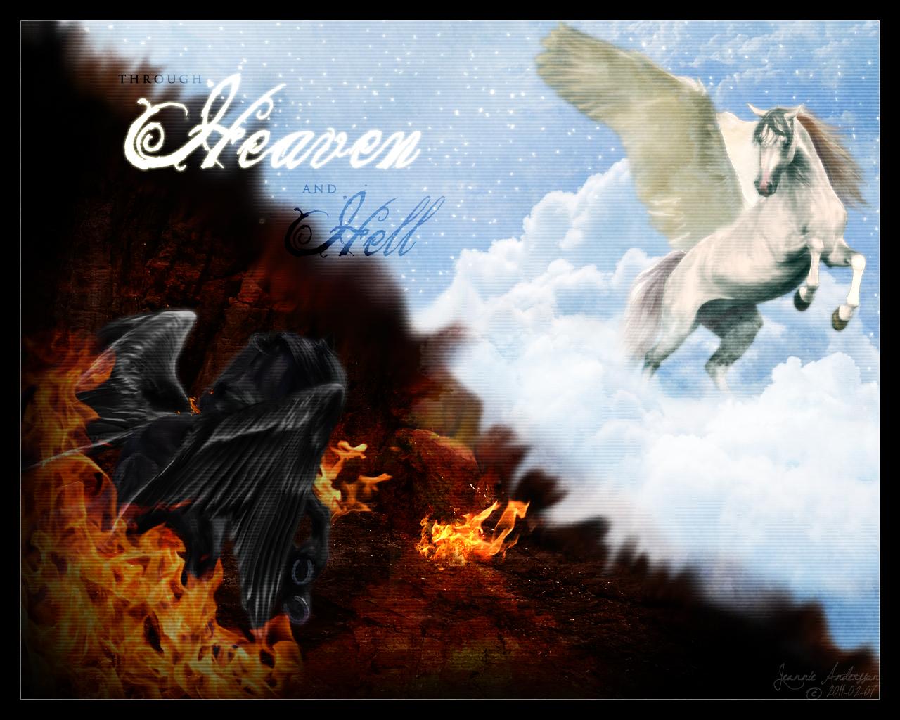 Heaven vs Hell Wallpaper - WallpaperSafari