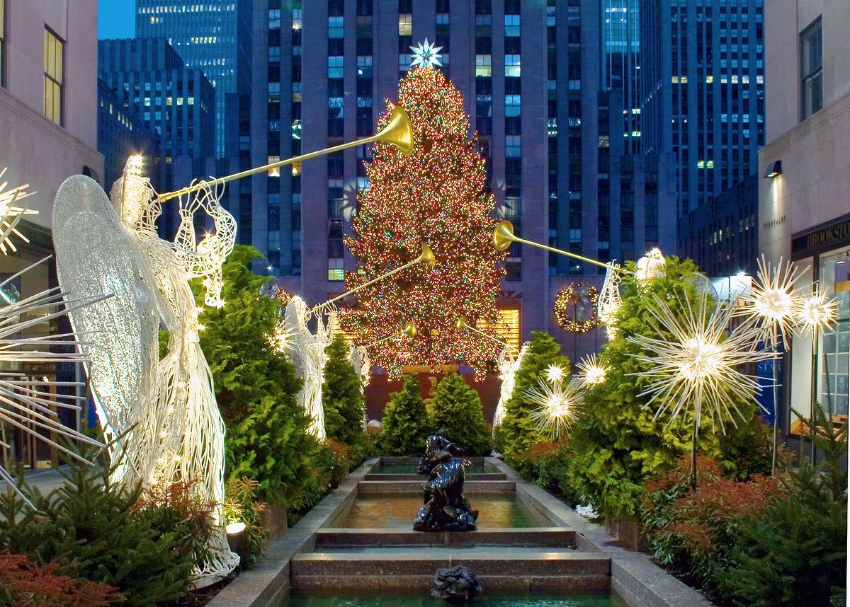 New York City Christmas 9 Wide Wallpaper Wallpaper 1200x858