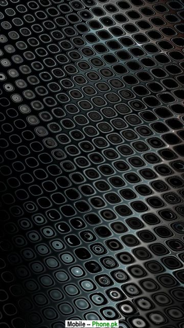Black steel wall Mobile Wallpaper Details 360x640