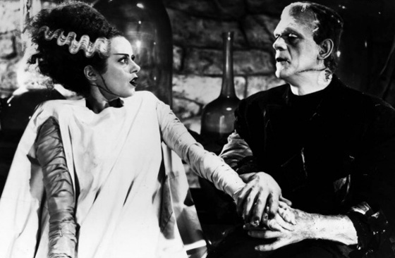 Bride Of Frankenstein Wallpaper Bride of frankenstein 560x366