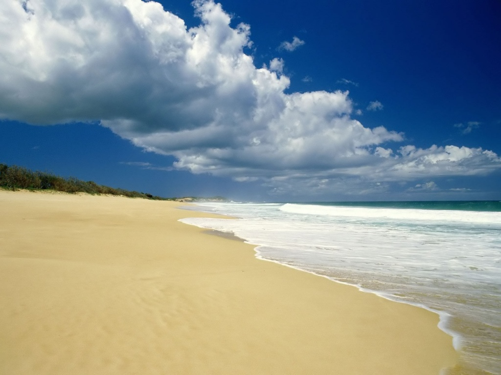 1024x768 Summer Beach desktop PC and Mac wallpaper 1024x768