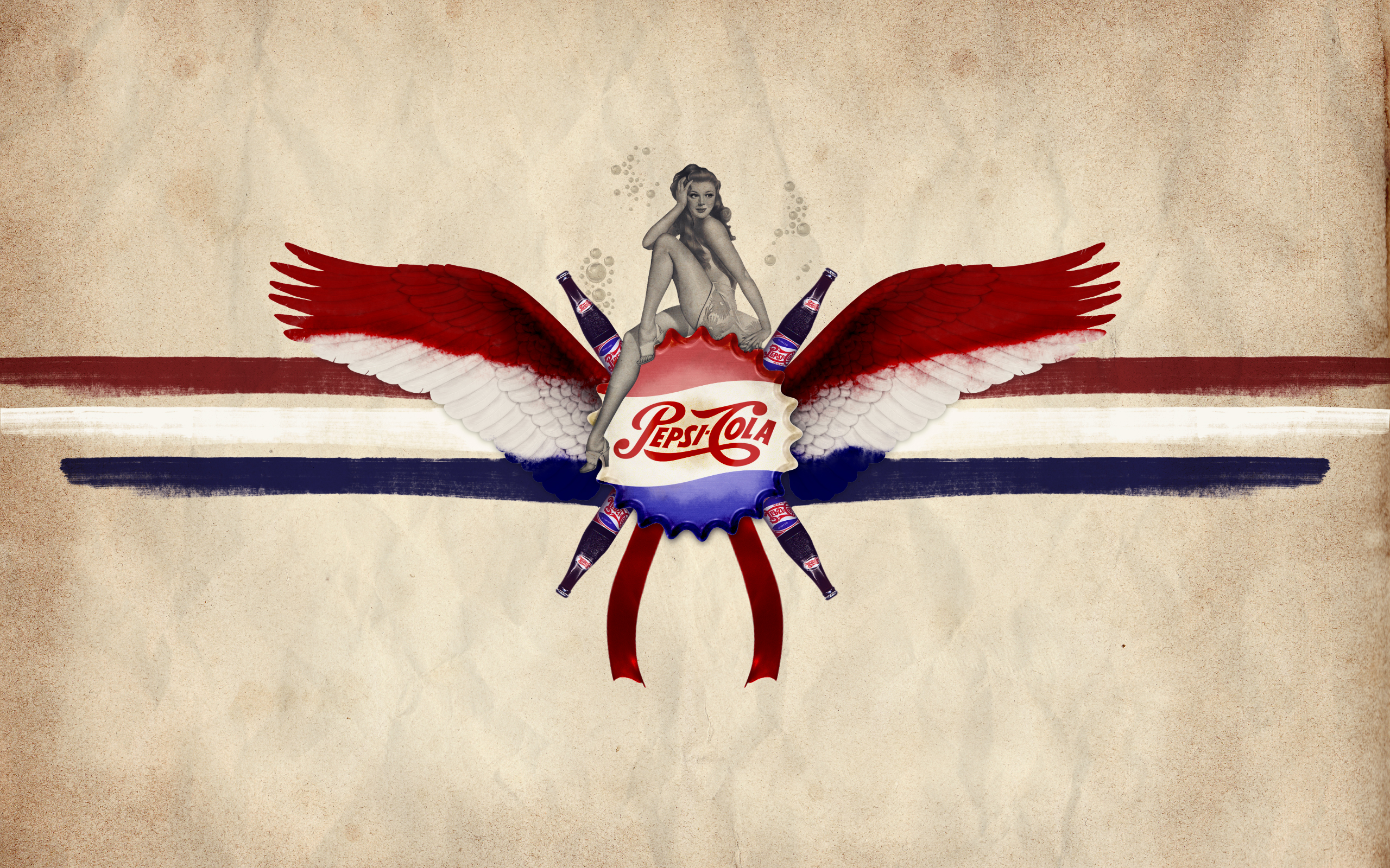 Pepsi cola Abstract OldtimeWallpaperscom   Antique wallpapers 2560x1600
