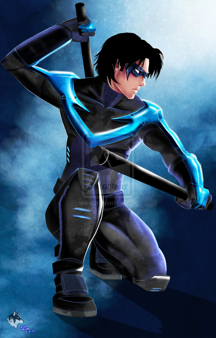 Nightwing by Radiant Grey 714x1120