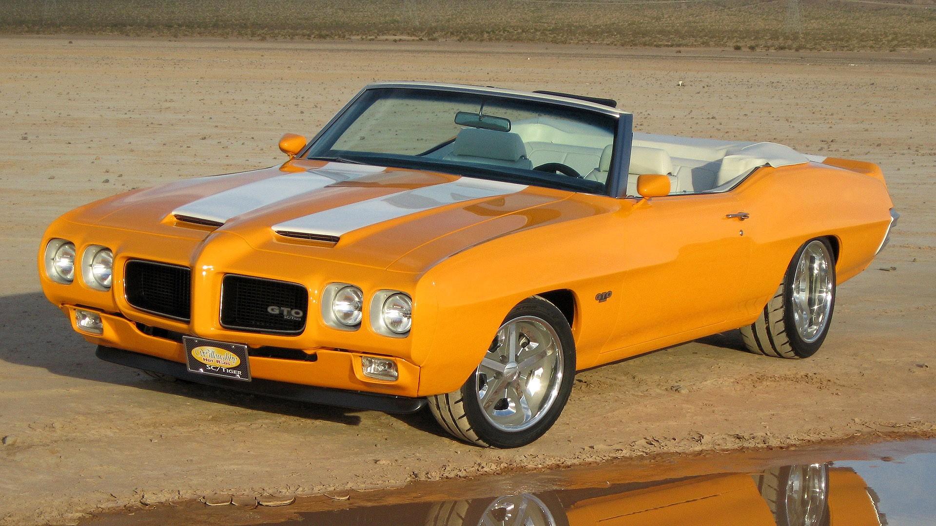 1970 Pontiac GTO Sport Coupe Cars Hot Rod 1970 Classic Cars Widescreen 1920x1080