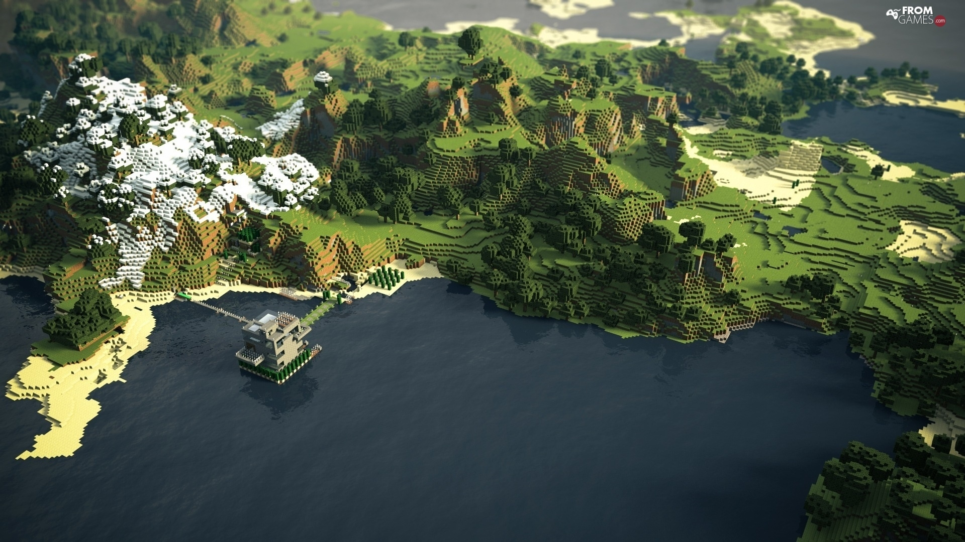 world square game Minecraft   From games wallpapers 1920x1080 1920x1080