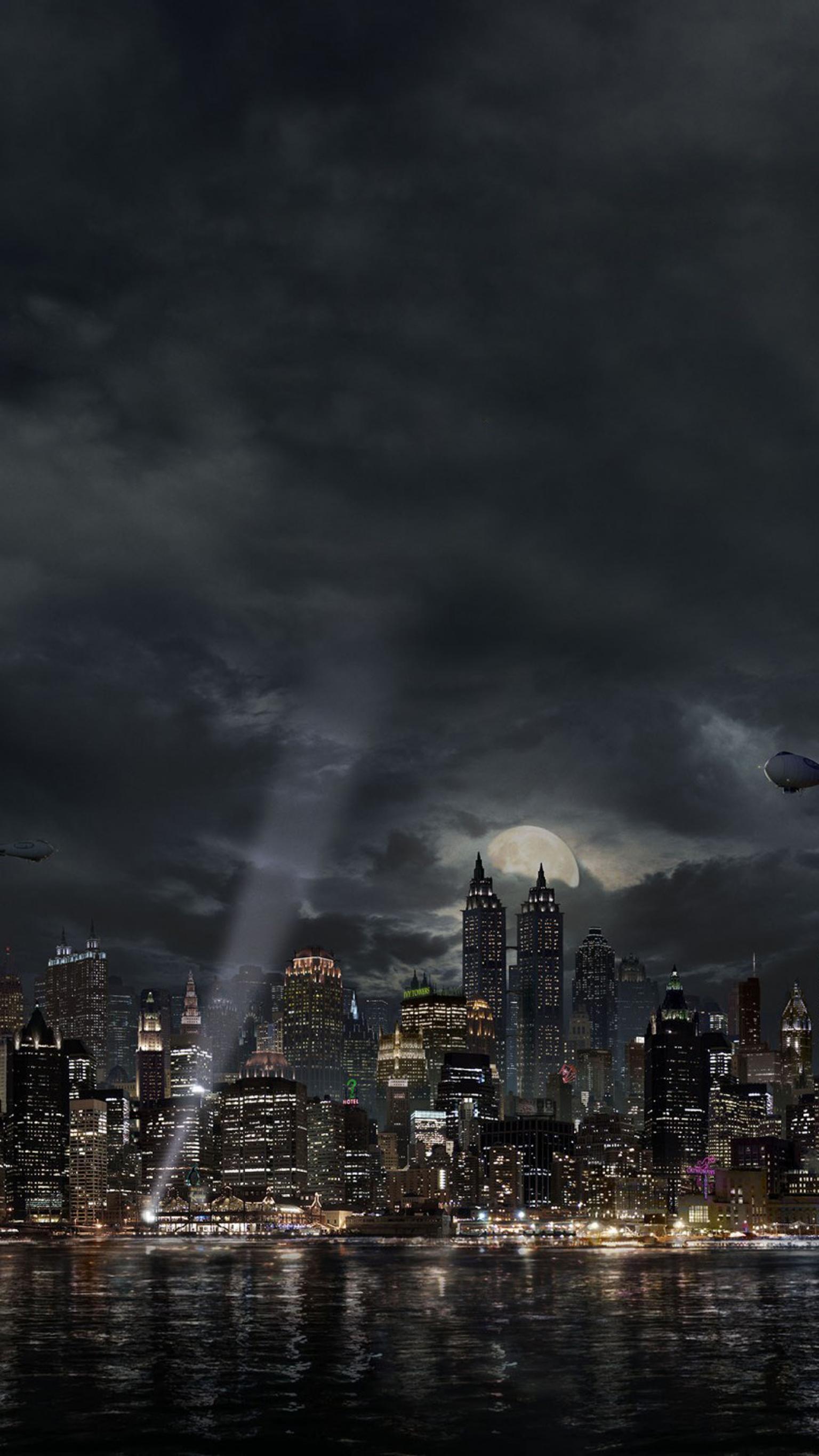Gotham Phone Wallpaper Moviemania 1536x2732
