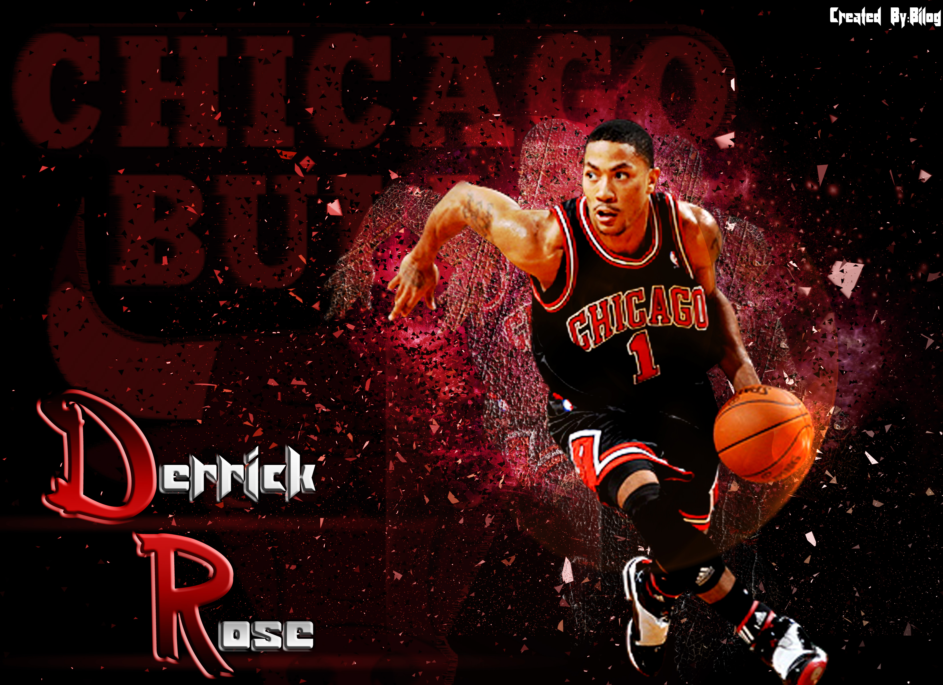 Download Derrick Rose Wallpaper HD 3300x2400