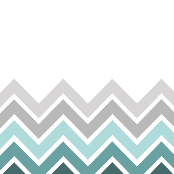 teal and gray chevron background
