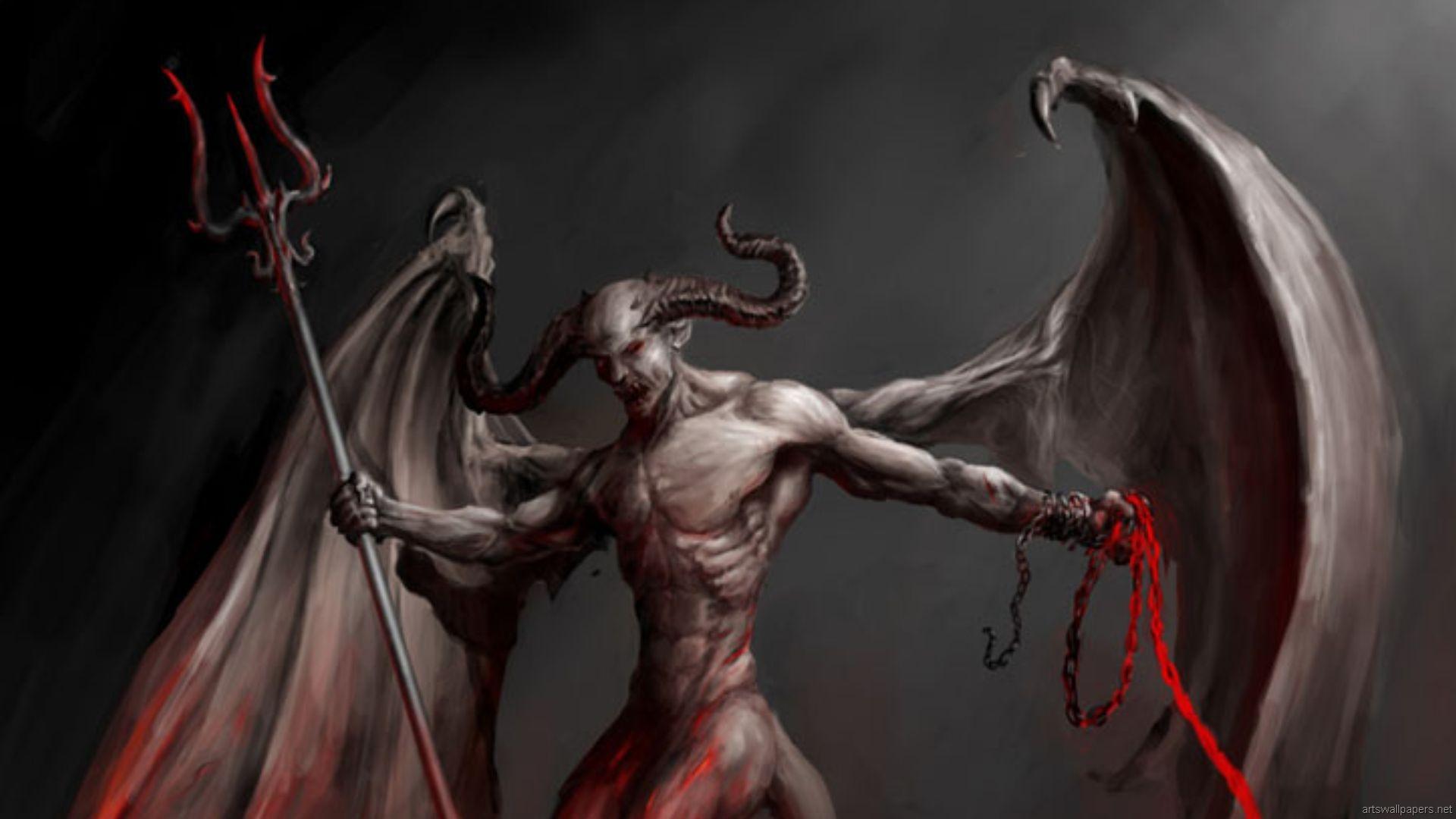 Dark Demon Wallpaper 1920x1080 Dark Demon 1920x1080