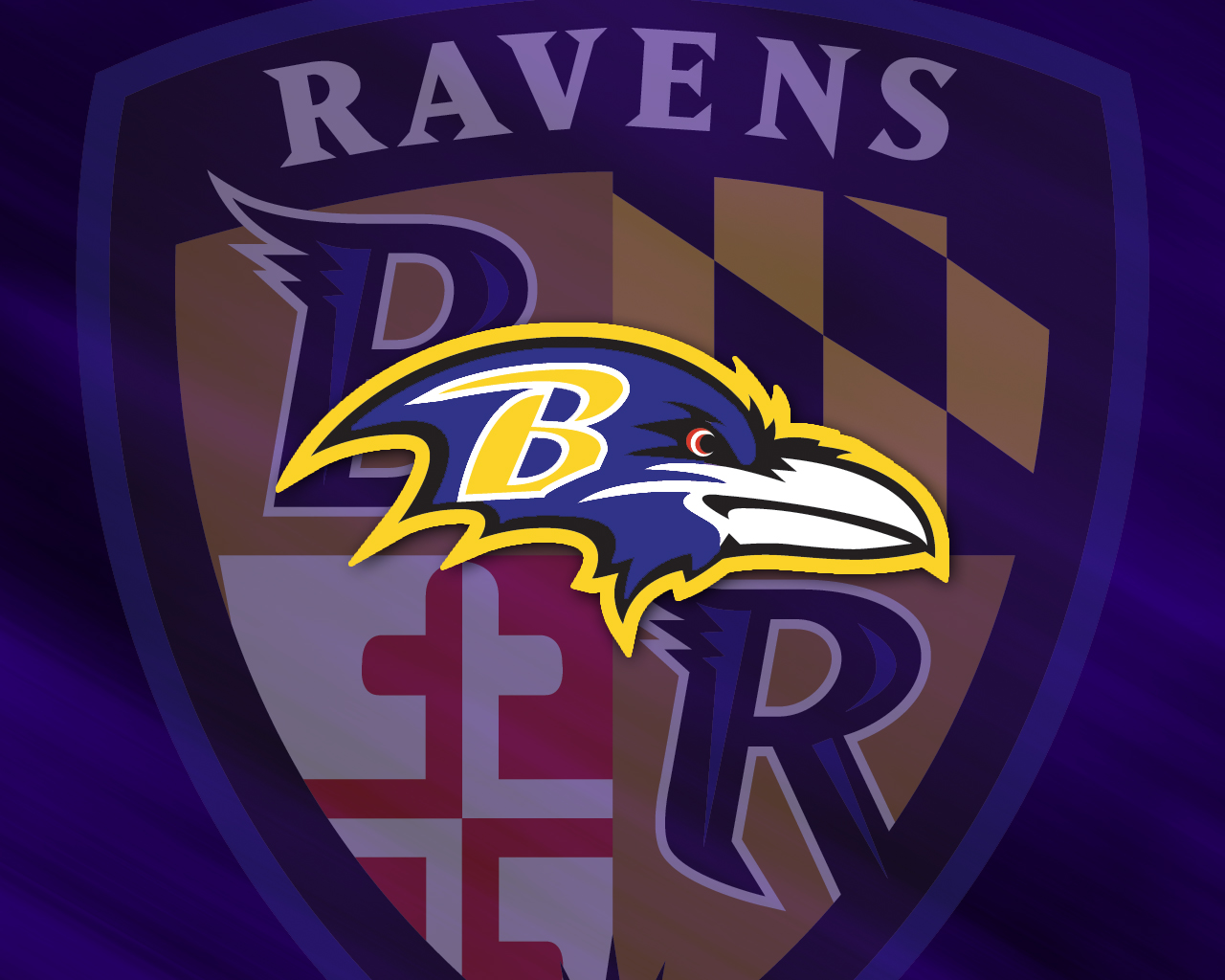 Download Baltimore Ravens wallpaper ravens logo 1280x1024