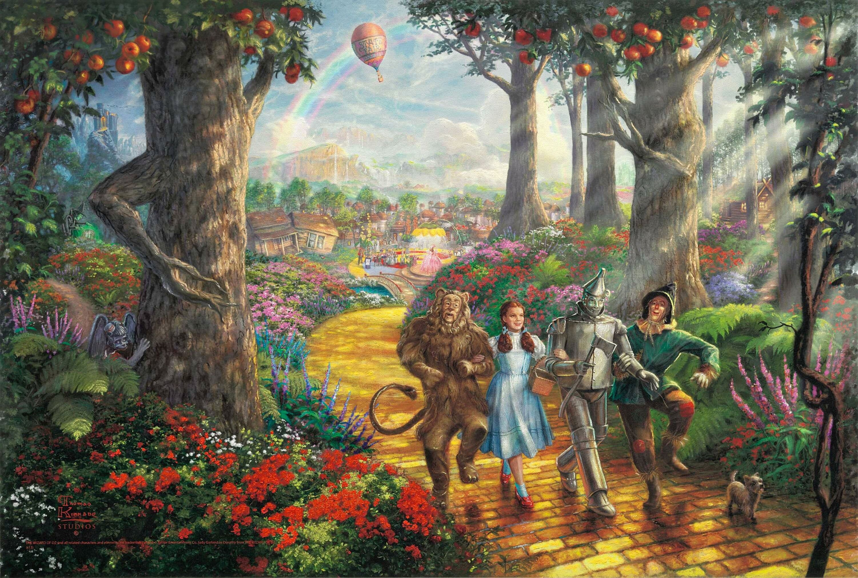 Thomas Kinkade Disney Wallpapers Cartoon Thomas Kinkade 3002x2024