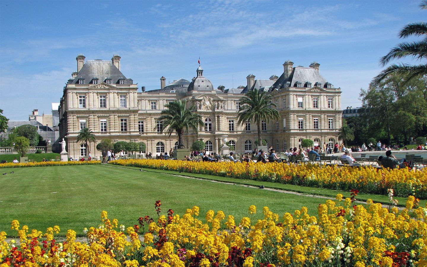 Luxembourg Palace Wallpapers and Background Images   stmednet 1440x900