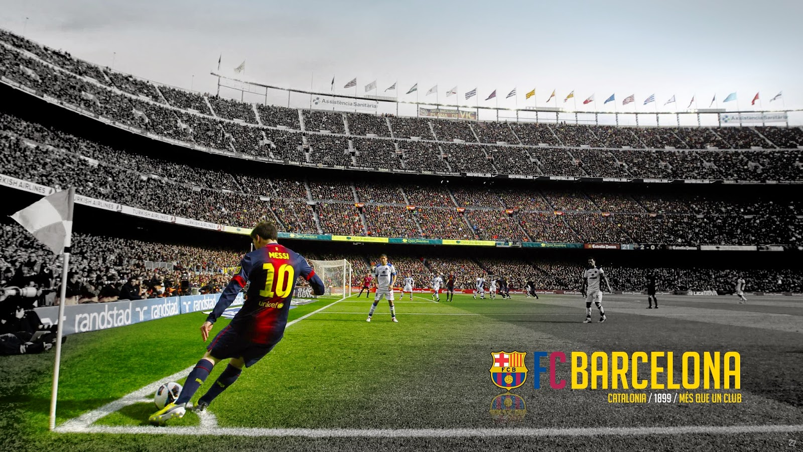 Camp Nou HD Wallpaper Fc Barcelona Photo 1600x900