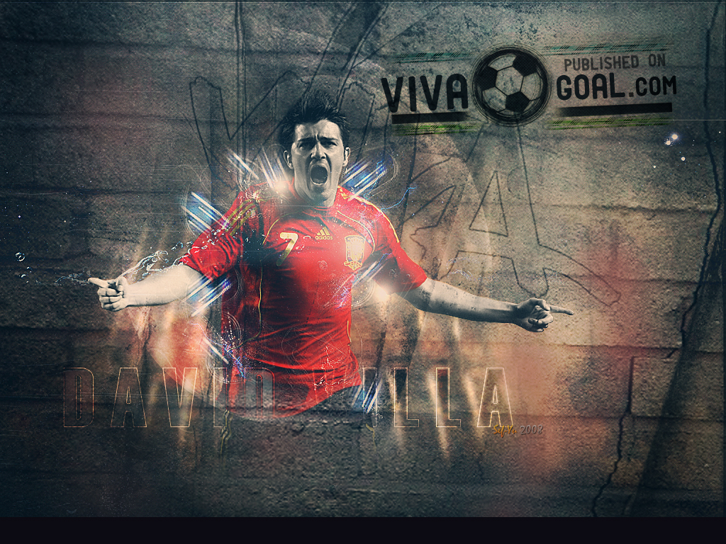 David villa Wallpapers and Backgrounds 1024x768