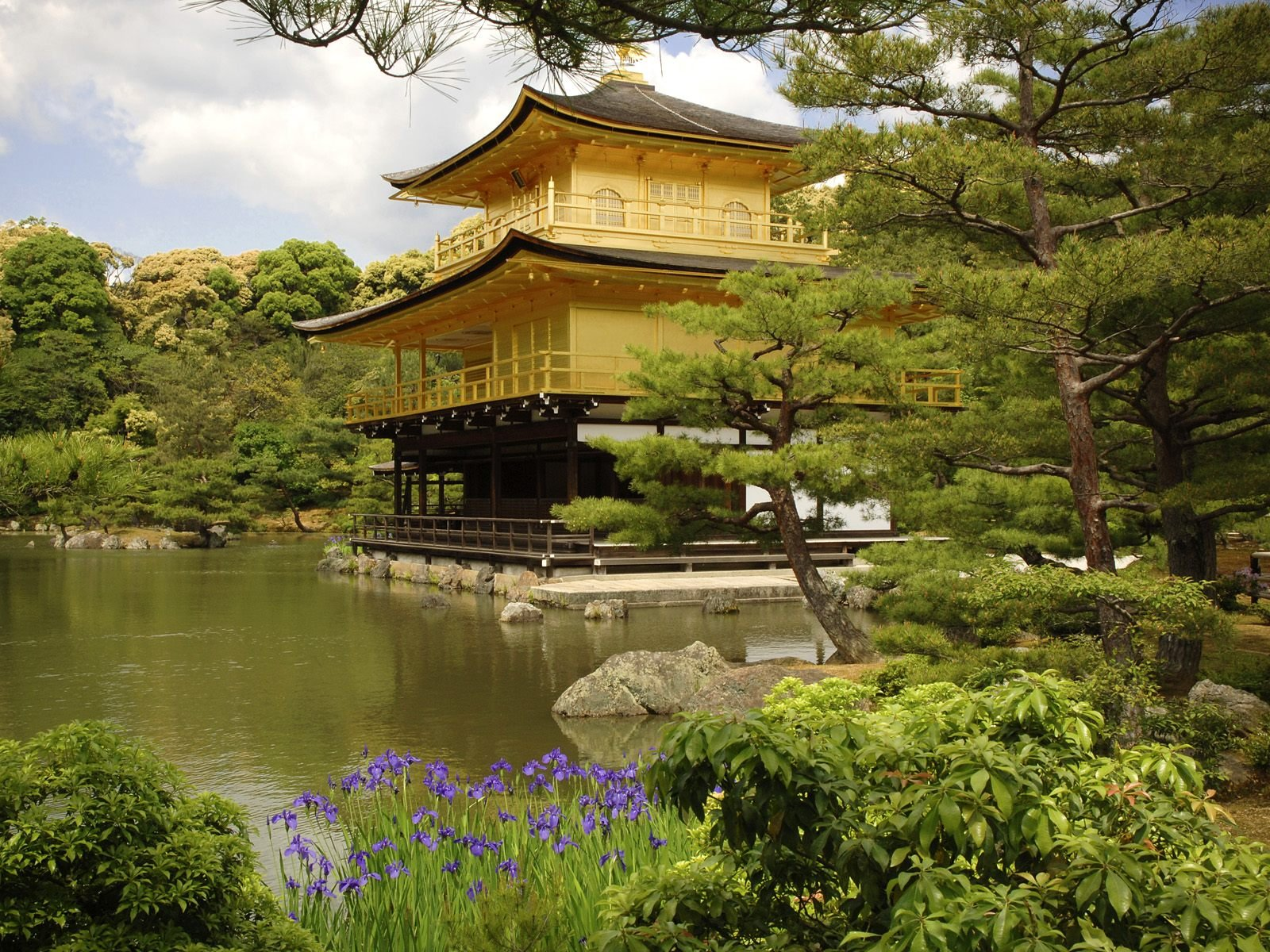 Kinkaku Ji Temple Kyoto Japan Wallpapers HD Wallpapers 1600x1200