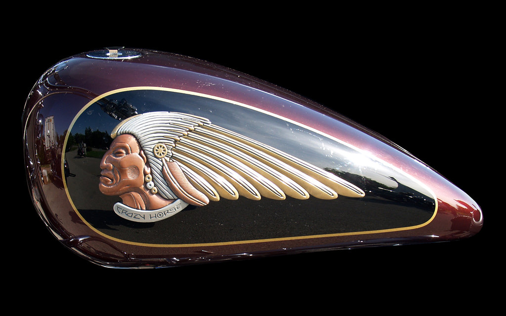 Indian Motorcycle Tank Wallpaper by marquitos 1024x640