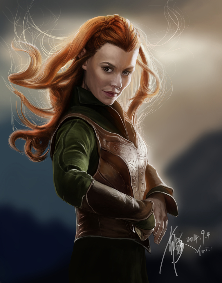 Hobbit Tauriel Wallpaper Hobbit Tauriel by 765x977