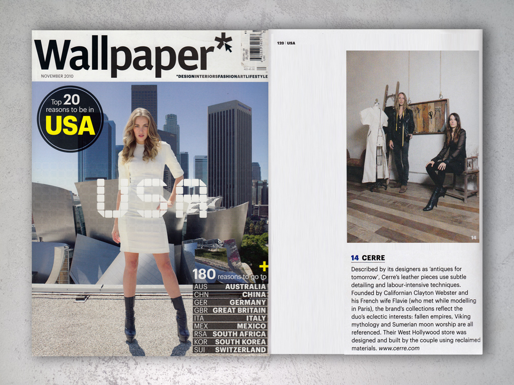 Wallpaper Magazine Cerre 1000x750