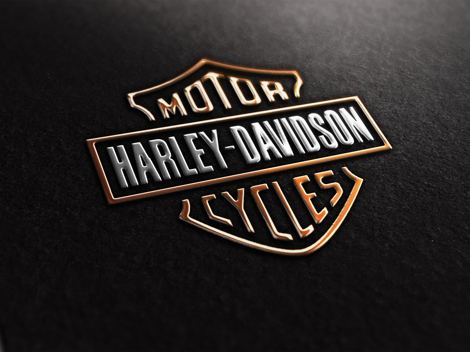 Harley Davidson Logo Desktop 853 HD Wallpaper 3D Desktop 1600x1200