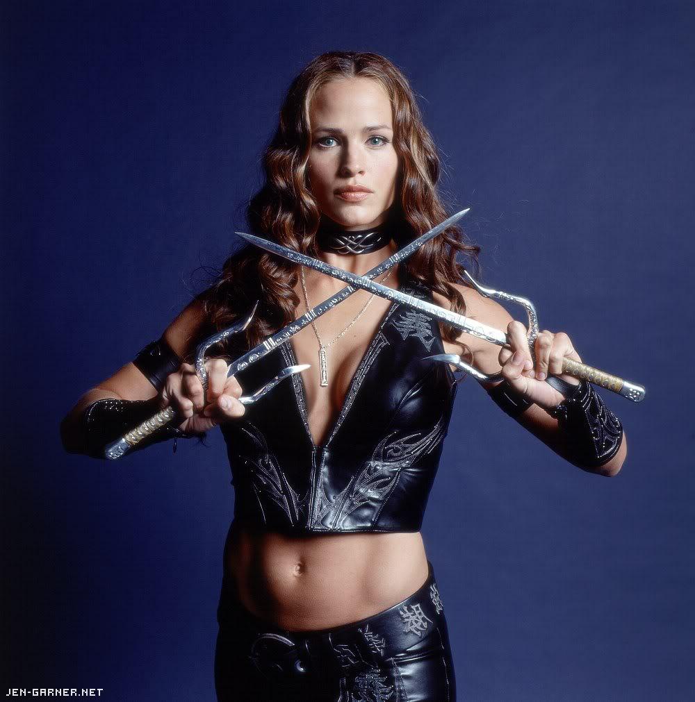 download Jennifer Garner Elektra Body HD Wallpaper Background 1000x1011