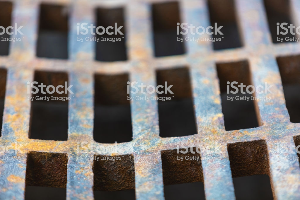 Rusty Steel Storm Drain Environment Pattern Texture Background 1024x683