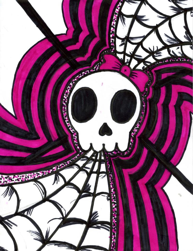 Girly Skulls 800x1039