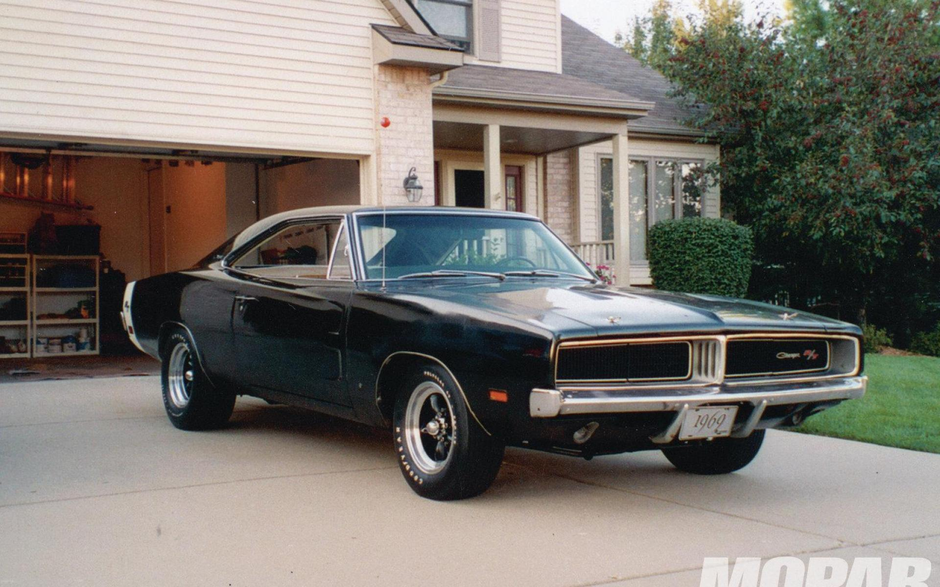 1969 dodge charger rt in a barn wallpaper   73356   HQ Desktop 1920x1200