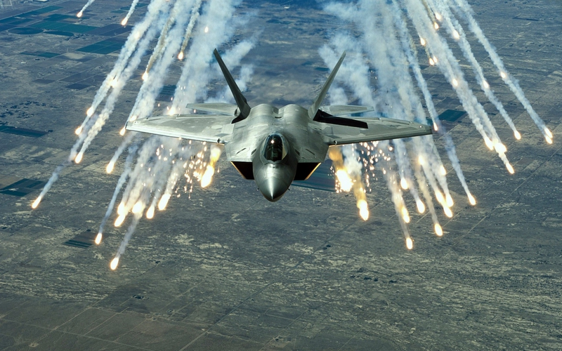 1080i 1080p F 22 Raptor Aircraft Military HD Desktop Wallpaper 800x500