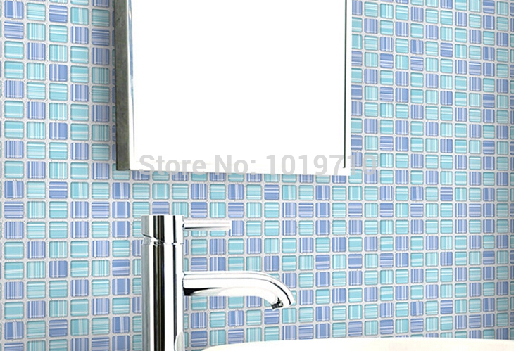 Kitchen oil sticker color sticky Mosaic waterproof wallpaper from the 733x499
