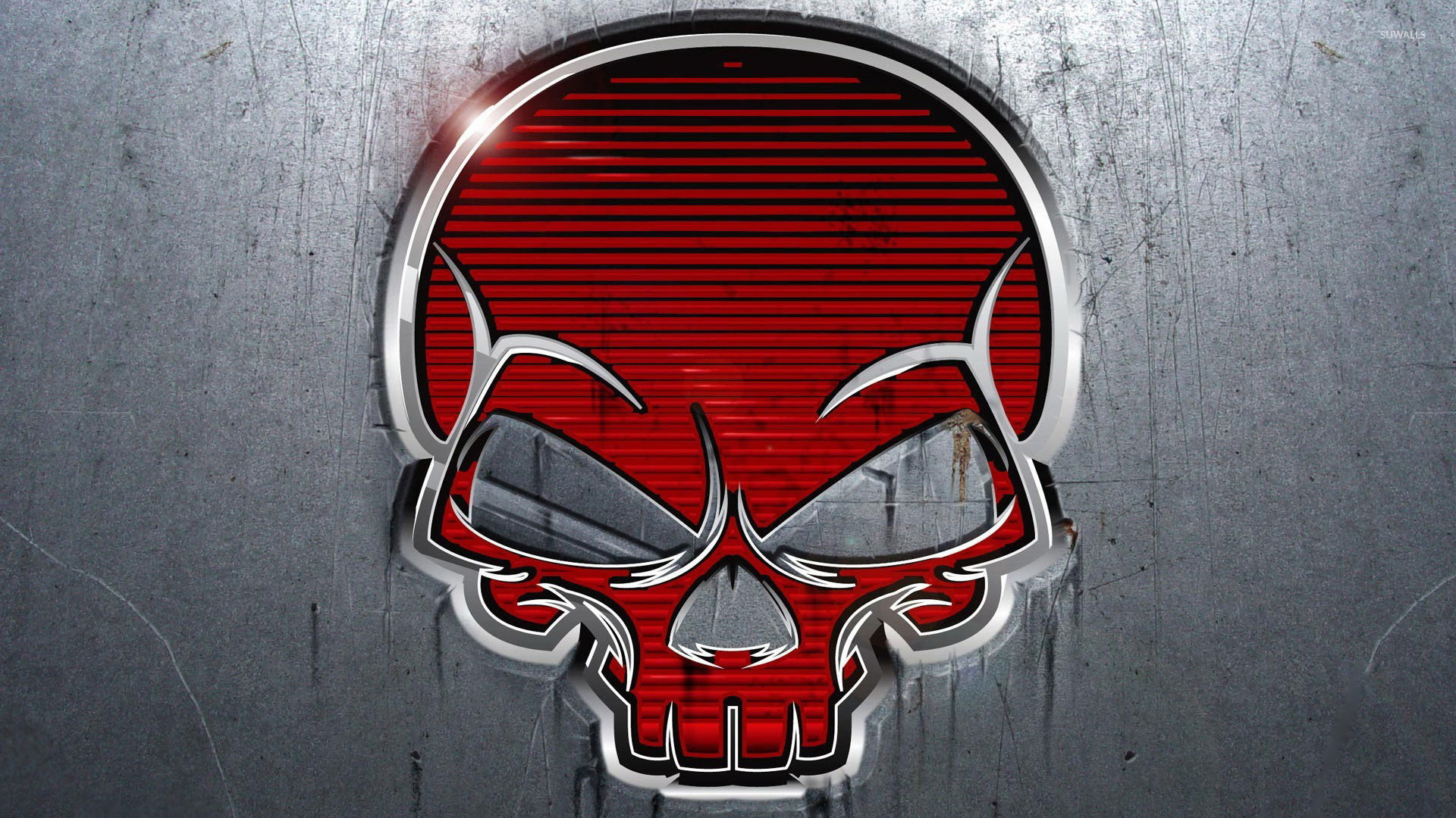 Red Skull Wallpaper - WallpaperSafari