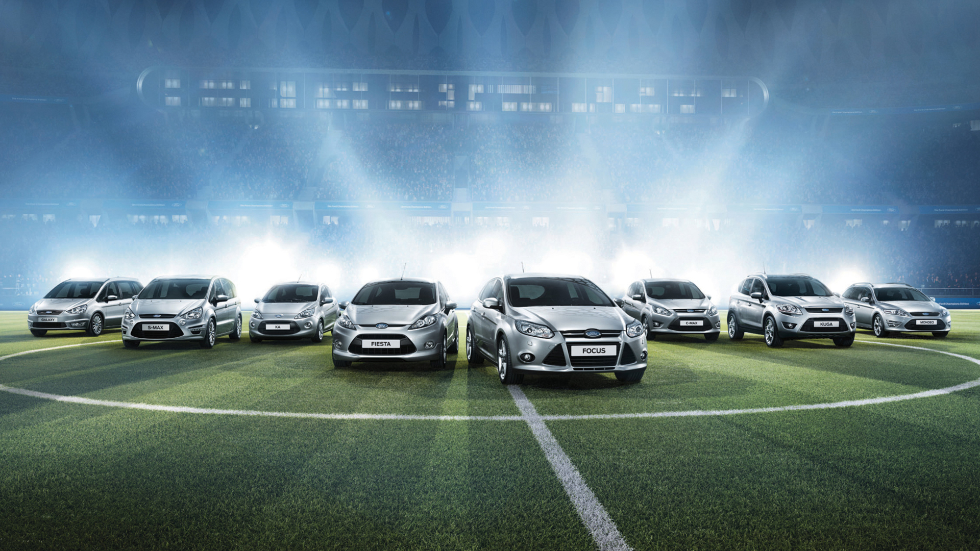 Ford and UEFA Champions League full hd wallpaper download cars 1920x1080